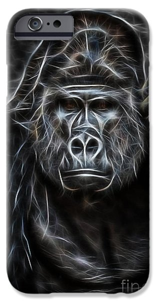 Mammals iPhone Cases - Ape Collection iPhone Case by Marvin Blaine