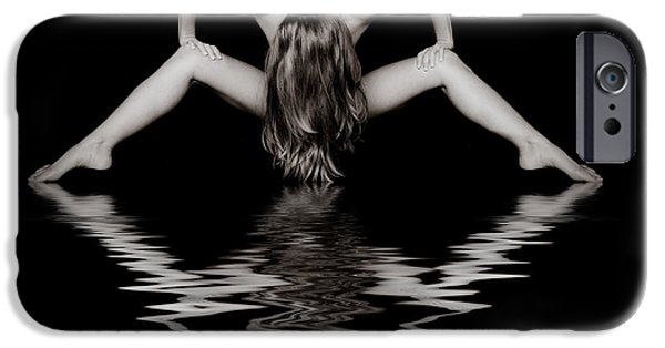 Provocative Photographs iPhone Cases - Art of a Woman iPhone Case by Jt PhotoDesign