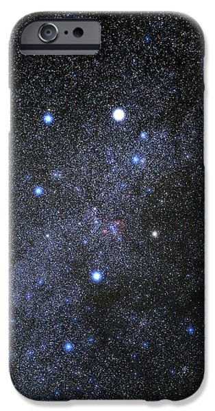 Recently Sold -  - Stellar iPhone Cases - Auriga Constellation iPhone Case by Eckhard Slawik