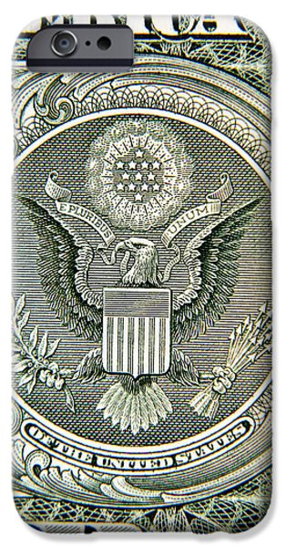 Treasury iPhone Cases - Banknote detail iPhone Case by Les Cunliffe
