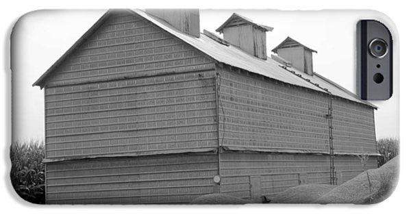 Old Barns iPhone Cases - Barn in Illinois no 5 iPhone Case by Dwight Cook