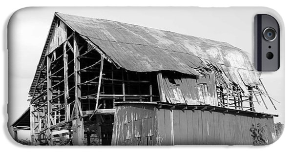 Daviess County Photographs iPhone Cases - Barn in Kentucky no 75 iPhone Case by Dwight Cook