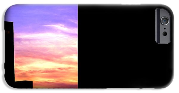 Built Structure iPhone Cases - Beautiful Sunset iPhone Case by Jijo George