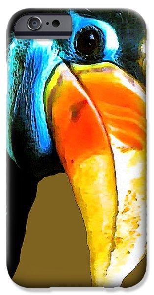 BELIEVE TOUCAN iPhone Case by Debra     Vatalaro