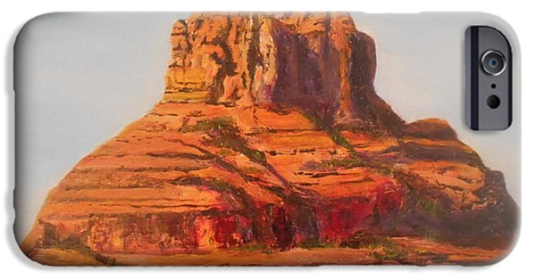 Recently Sold -  - Sedona iPhone Cases - Bell Rock in Sedona Arizona iPhone Case by Rauno  Joks