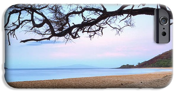 Morning iPhone Cases - Big Beach Maui Hawaii iPhone Case by Dustin K Ryan