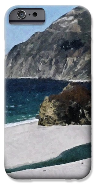 Pch iPhone Cases - Big Sur California  iPhone Case by Teresa Mucha