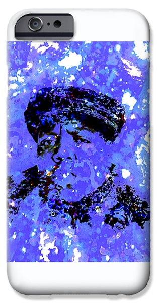 Dr. J iPhone Cases - Biggie Smalls iPhone Case by Brian Reaves