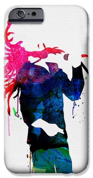 Piano iPhone Cases - Bob Watercolor iPhone Case by Naxart Studio