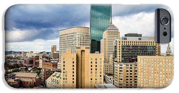 City. Boston iPhone Cases - Boston iPhone Case by Karen Regan