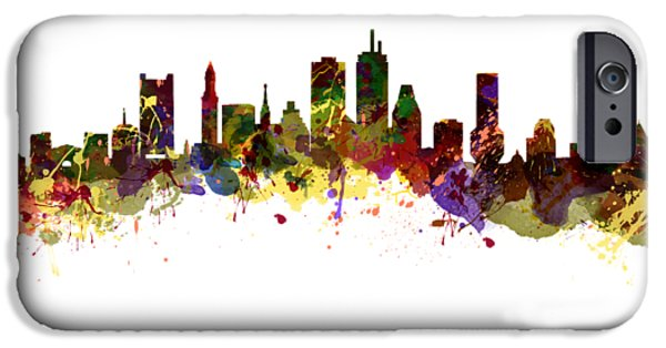 City. Boston iPhone Cases - Boston USA iPhone Case by Chris Smith