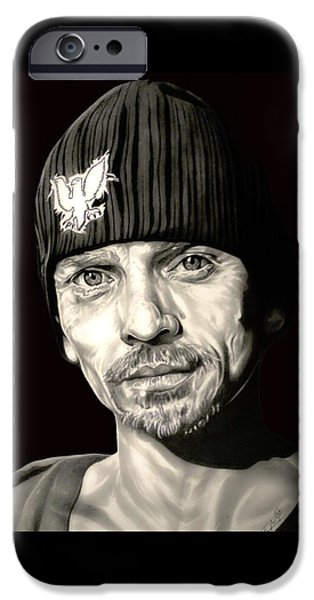 Aaron Drawings iPhone Cases - Breaking Bad Skinny Pete iPhone Case by Fred Larucci