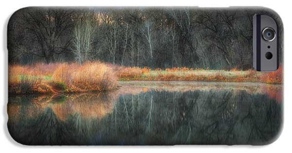 Landscape Acrylic Prints iPhone Cases - Calm Before the Storm iPhone Case by Darren  White
