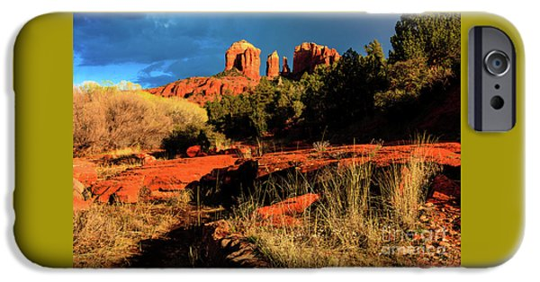 Cathedral Rock iPhone Cases - Cathedral Rock Arizona iPhone Case by Ben Graham