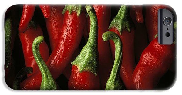 Chili iPhone Cases - Cayenne iPhone Case by Daniel Troy