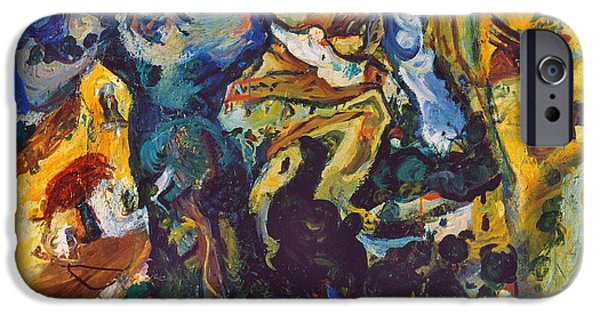 Aodcc iPhone Cases - Chaim Soutine (1893-1943) iPhone Case by Granger
