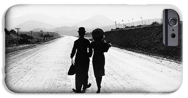 Chaplin iPhone Cases - Chaplin: Modern Times, 1936 iPhone Case by Granger