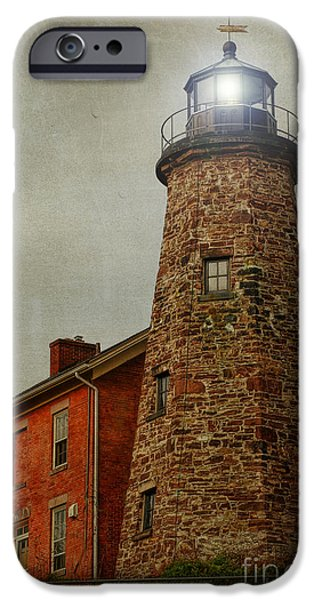 Charlotte Genesee Lighthouse iPhone Case by Joel Witmeyer