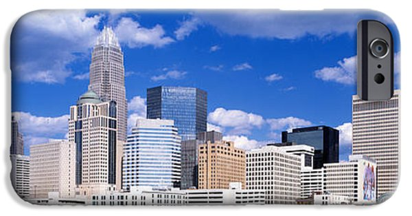 Charlotte iPhone Cases - Charlotte, North Carolina, Usa iPhone Case by Panoramic Images