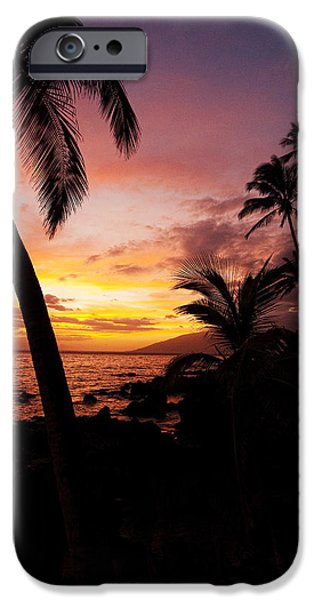 Seacapes iPhone Cases - Charly Young Sunset iPhone Case by James Roemmling