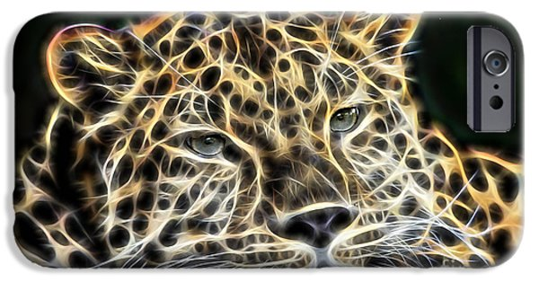 Animal iPhone Cases - Cheetah Collection iPhone Case by Marvin Blaine