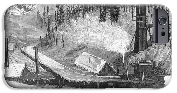 1884 iPhone Cases - Coal Mine Explosion, 1884 iPhone Case by Granger