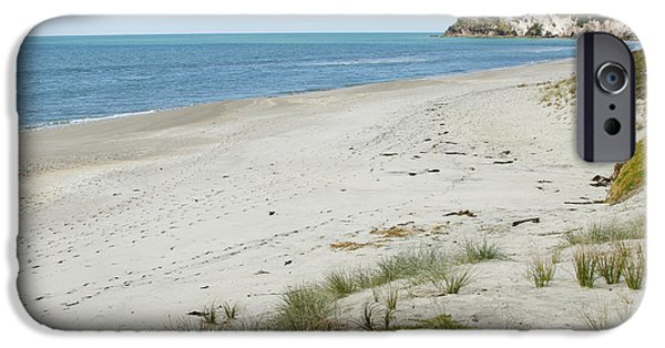 Morning iPhone Cases - Coastline NZ iPhone Case by Les Cunliffe