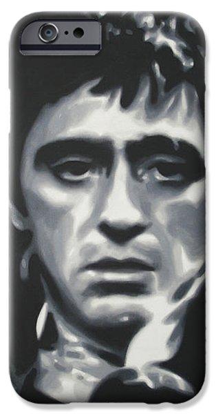 Cocaine 2013 iPhone Case by Luis Ludzska