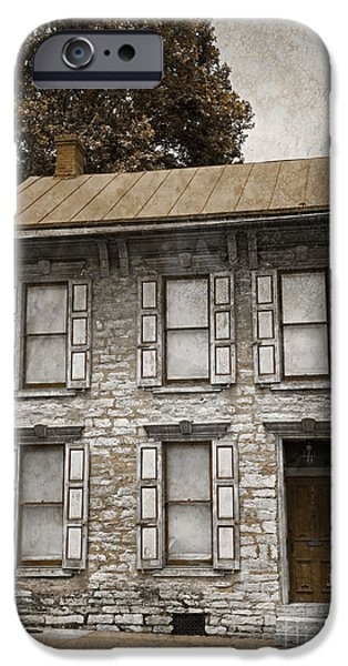 Facade iPhone Cases - Colonial Facade iPhone Case by John Stephens
