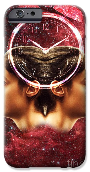 Disorder iPhone Cases - Conceptual Illustration Of Circadian iPhone Case by George Mattei