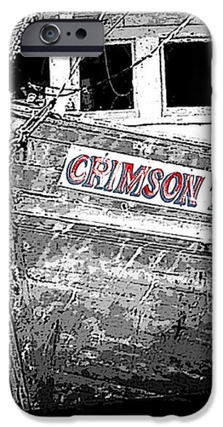 Crimson Tide iPhone Case by Michael Thomas