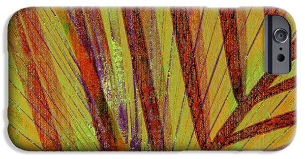 Abstract Digital Mixed Media iPhone Cases - Curiosity iPhone Case by Kaypee Soh - Printscapes