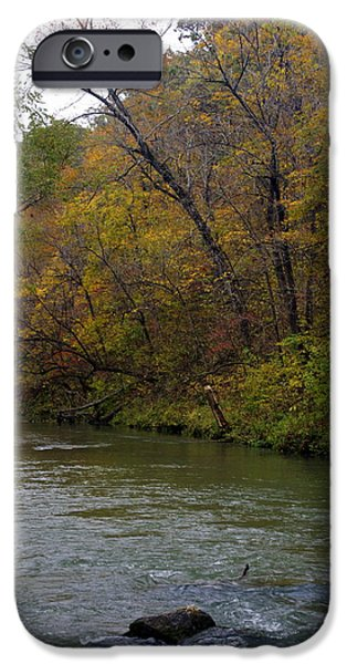 Current river 8 iPhone Case by Marty Koch