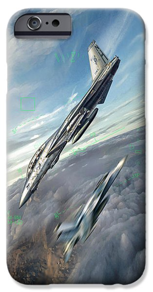 Weapon iPhone Cases - Dact iPhone Case by Peter Van Stigt