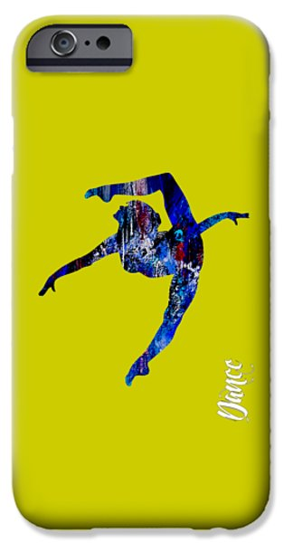 Dancing iPhone Cases - Dance Collection iPhone Case by Marvin Blaine