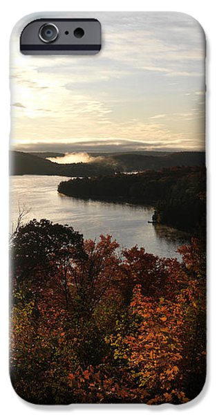 Dawn at Algonquin Park Canada iPhone Case by Oleksiy Maksymenko