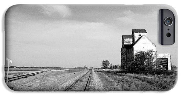 Historic Site iPhone Cases - Defunct Grain Elevator iPhone Case by Donald  Erickson