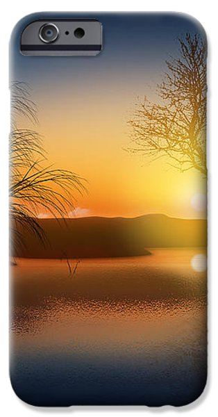dramatic landscape iPhone Case by Setsiri Silapasuwanchai
