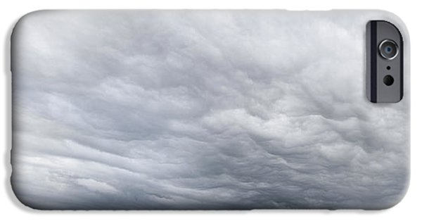 Dark Skies iPhone Cases - Dramatic sky iPhone Case by Les Cunliffe