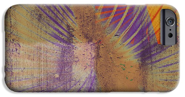 Abstract Digital Mixed Media iPhone Cases - Dreaming iPhone Case by Kaypee Soh - Printscapes