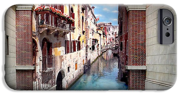 Buy iPhone Cases - Dreaming Of Venice Panorama iPhone Case by Az Jackson