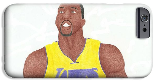 Dwight Howard iPhone Cases - Dwight Howard iPhone Case by Toni Jaso