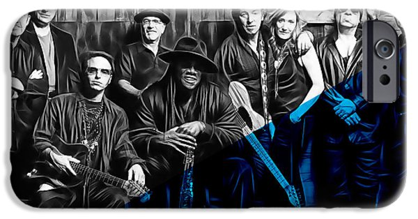 E Street Band iPhone Cases - E Street Band Collection iPhone Case by Marvin Blaine