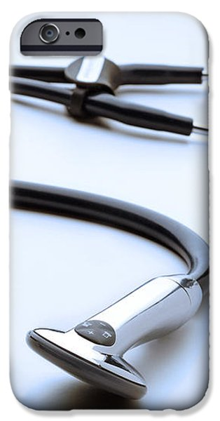 Electronic Stethoscope iPhone Case by Tim Vernon, Lth Nhs Trust
