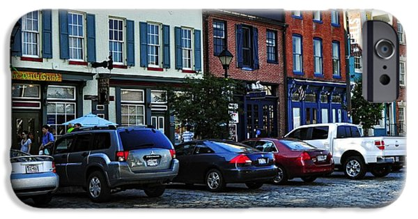 City Scape iPhone Cases - Fells Point iPhone Case by Jim Archer