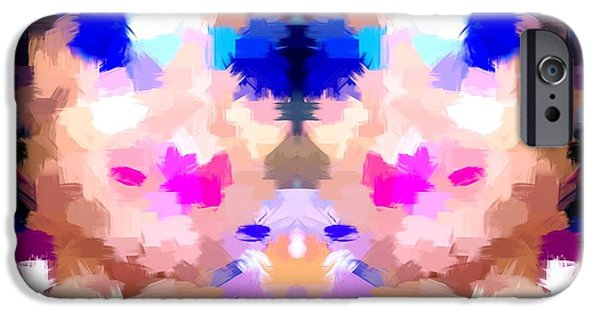 Abstract Digital Art iPhone Cases - Figure It Out iPhone Case by Gayle Price Thomas