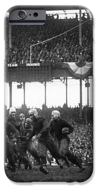 FOOTBALL GAME, 1925 iPhone Case by Granger