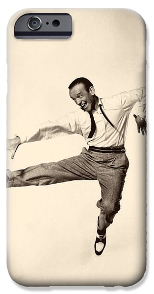 Recently Sold -  - 1950s Movies iPhone Cases - Fred Astaire In Daddy Long Legs 1955 iPhone Case by Mountain Dreams