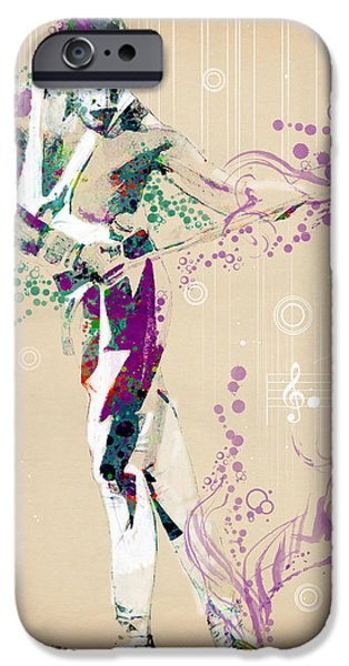 Recently Sold -  - Figures iPhone Cases - Freddie Mercury vintage 2 iPhone Case by MB Art factory