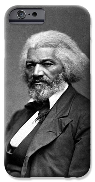 Black History iPhone Cases - Frederick Douglass iPhone Case by War Is Hell Store